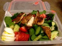 Spinach and Strawberry Salad