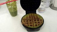 Green Protein Waffles