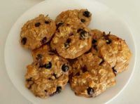 Blueberry Pear Oatmeal Cookie