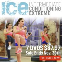 Cathe's ICE Workout DVDs Pre_Sale Ends Nov 30th
