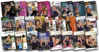 image of DVD's used in Cathe Friedrich's December 2017 Workout Rotation