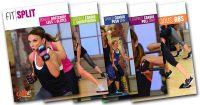 image showing Fit Split DVD and video covers