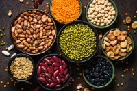 Legumes are an excellent protein source
